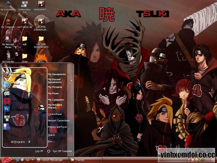 Akatsuki Theme for XP
