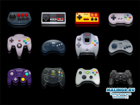 Gamepads Icon Pack