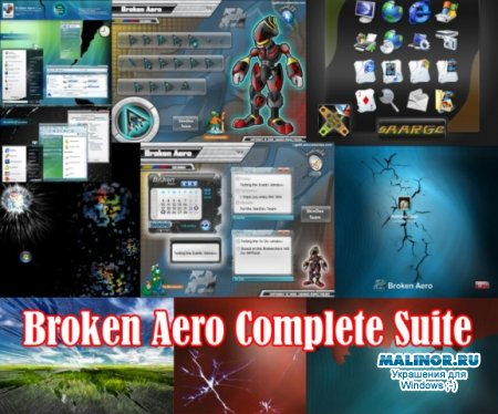 Broken Aero Desktop Suite