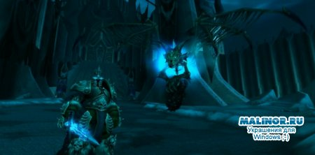 WoW Wratch of the Lich King скринсейвер Arthas