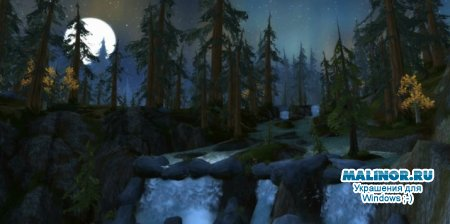 WoW Wratch of the Lich King скринсейвер Blackriver Logging Camp