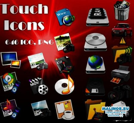 Touch Icons Pack
