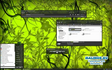 The_Emerald_Forest for Windows vista
