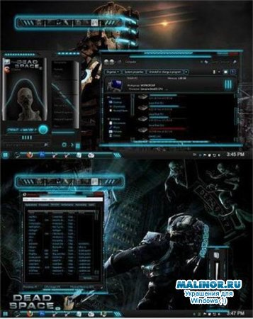 Dead Space 2 Theme for Windows 7