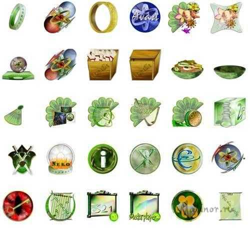 Emerald Icons Pack