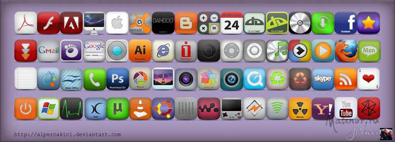 Dock Icons Part 1