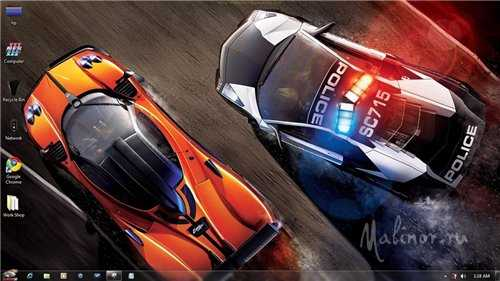 Need For Speed Hot Pursuit Windows 7 Theme
