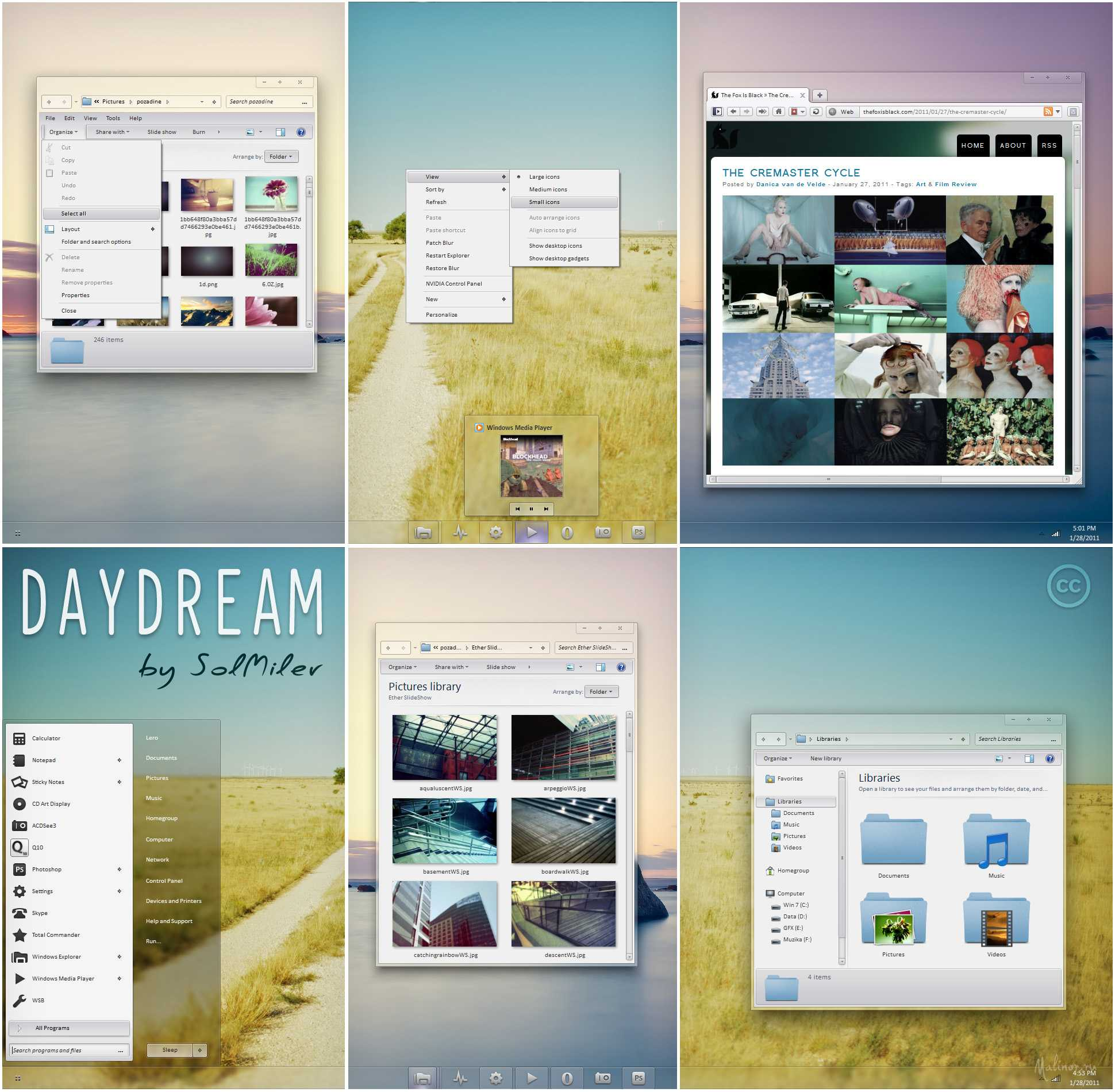 daydream for windows 7 by solmiler