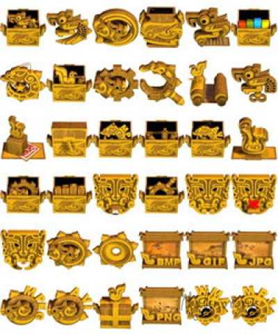 Gold Icon Pack1