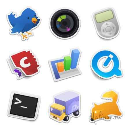 Sticker Icons Pack 1 & 2