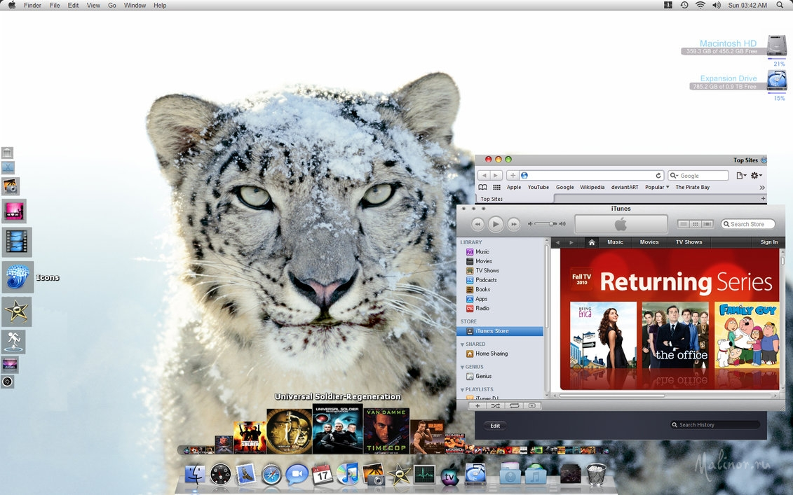 Realistic Mac OSX Windows 7 V3